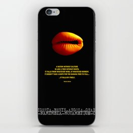 Cowrie iPhone Skin