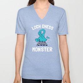 Loch Chess Monster Unisex V-Neck