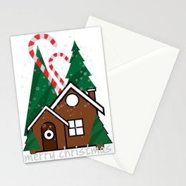 merry christmas vector illustration Stationery Cards