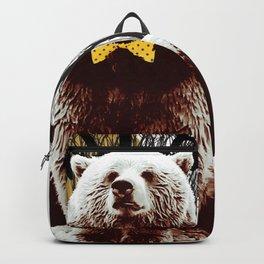 Bad Boy Bear Backpack
