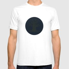 The Naked Tree SMALL White Mens Fitted Tee