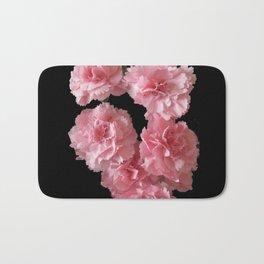 Pink Carnations Bath Mat