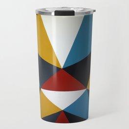 Barrage of colorful Umbrellas Travel Mug
