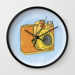 So Analog - Agfa Clack Retro Vintage Camera Wall Clock