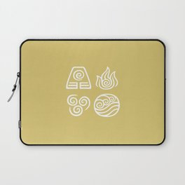 Bending All Four Elements – Wind Laptop Sleeve