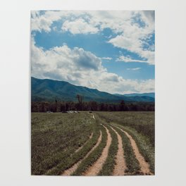 The fields of Tennessee Poster