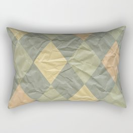 Wrinkled Harlequin Rectangular Pillow