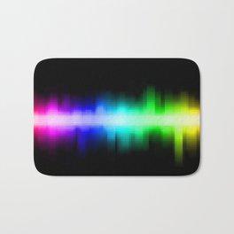 Soundwave cells Bath Mat