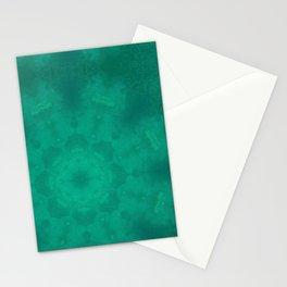 Heart Chakra Mandala fabric Stationery Cards
