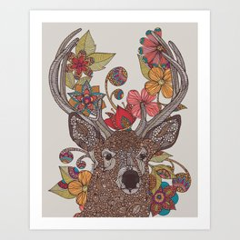 Hello my Deer Art Print