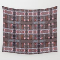 doors Wall Tapestries featuring doors by Mackenzie Leigh