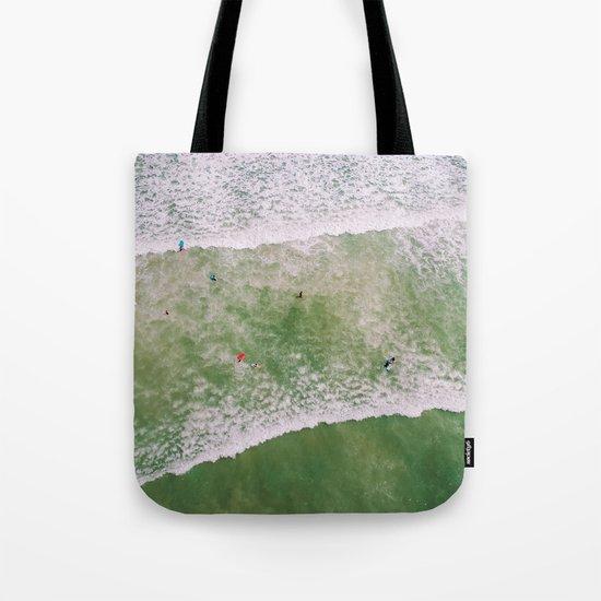 Waves bath Tote Bag