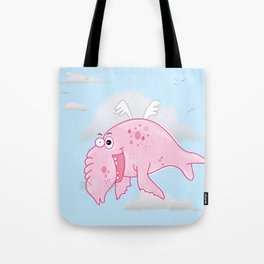 Elephant Seal In The Sky Tote Bag
