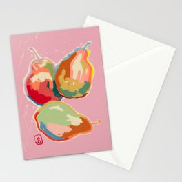 PERFECT PEARS Stationery Cards
