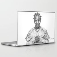 oitnb Laptop & iPad Skins featuring Crazy Eyes from OITNB by nilelivingston