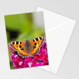 Butterfly small Tortoiseshell II Stationery Cards