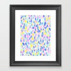 Delight Pastel Framed Art Print