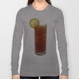 A Glass of Iced Tea Long Sleeve T-shirt