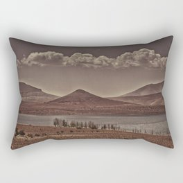 Lone Atlas Lake Rectangular Pillow