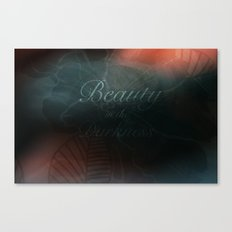 Beauty in the Darkness Canvas Print