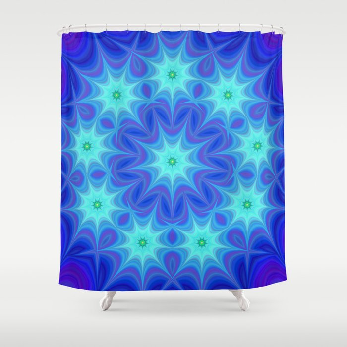 Stars Shower Curtain By Davidzydd