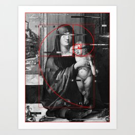 Madonnas lil Thug Art Print