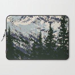 Glacier National Park Laptop Sleeve