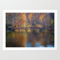 Westridge Pond Art Print