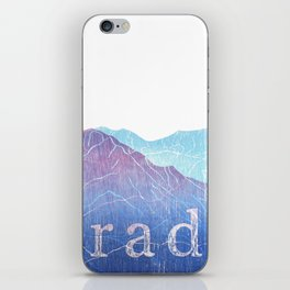 Colorado Mountain Ranges_Pikes Peak + Continental Divide iPhone Skin