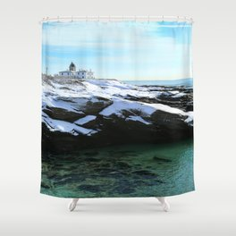 Guarding the Coast Shower Curtain