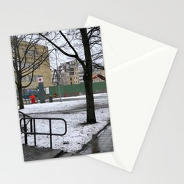 The world comes down @Malmö hospital Stationery Cards