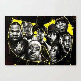 The Wu Canvas Print