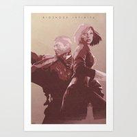 bioshock infinite Art Prints featuring The Lighthouse - Bioshock: Infinite by Edward J. Moran II