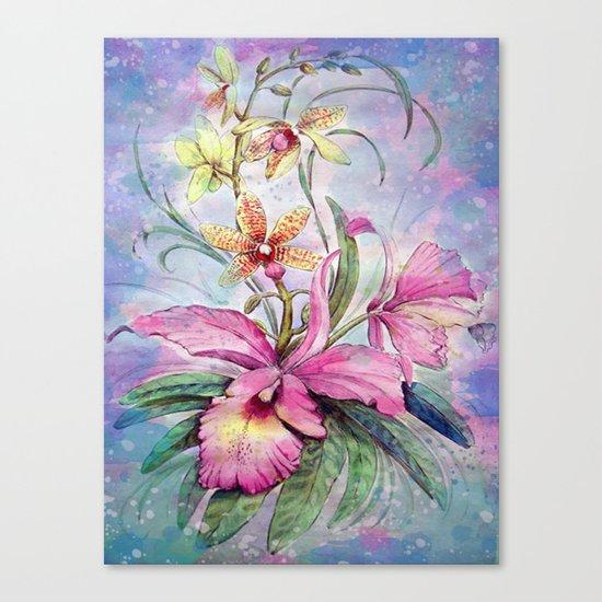 Orchids 06 Canvas Print