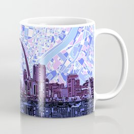 st louis city skyline Coffee Mug