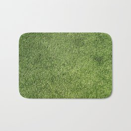 Green Lawn Bath Mat