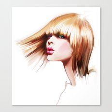 hairdress Canvas Print