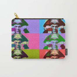 Aleister Crowley Pop Art Carry-All Pouch
