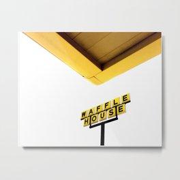 Waffle House, Warsaw, NC Metal Print