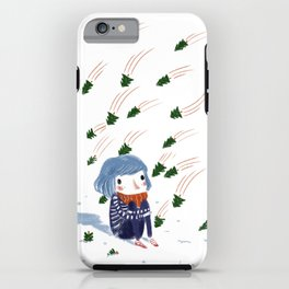 shooting trees iPhone Case