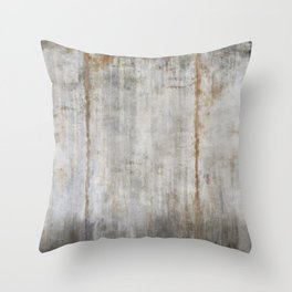 Concrete Wall Throw Pillow