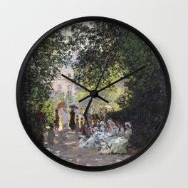 The Parc Monceau Wall Clock