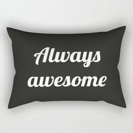 The Awesome Edition II Rectangular Pillow