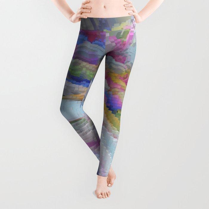 Abstract 223 Leggings