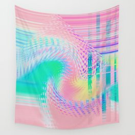 Distorted signal 03 Wall Tapestry