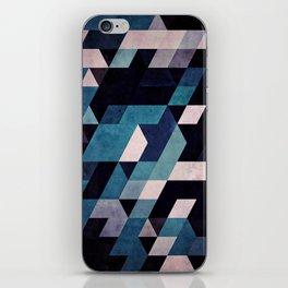 blux redux iPhone Skin