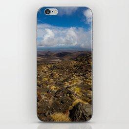 Tongariro National Park, NZ iPhone Skin