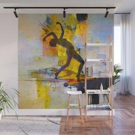 Dance among the colors Wall Mural