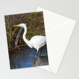 Just Right (Great Egret) Stationery Cards