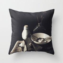 Set-Ups Throw Pillow